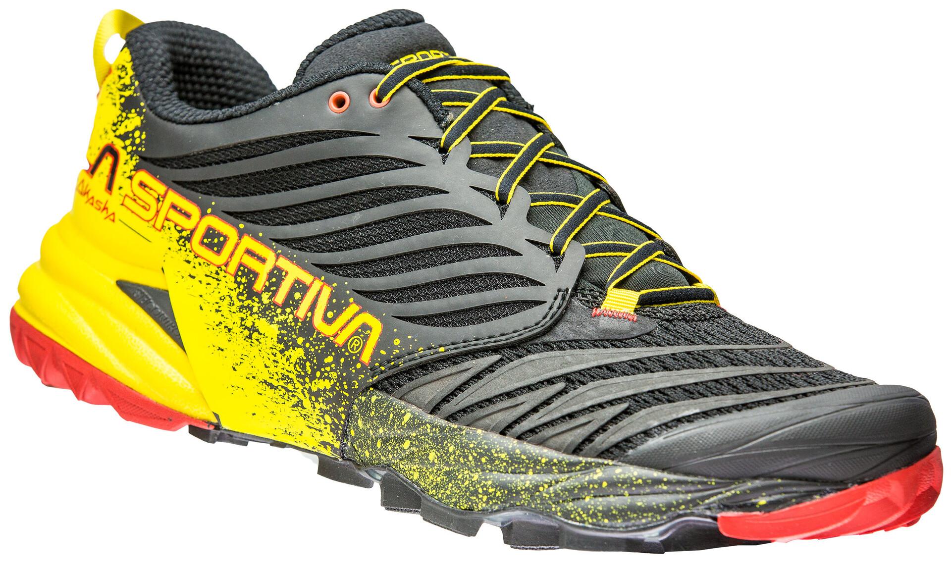 La Sportiva Akasha Chaussures de trail Homme, blackyellow